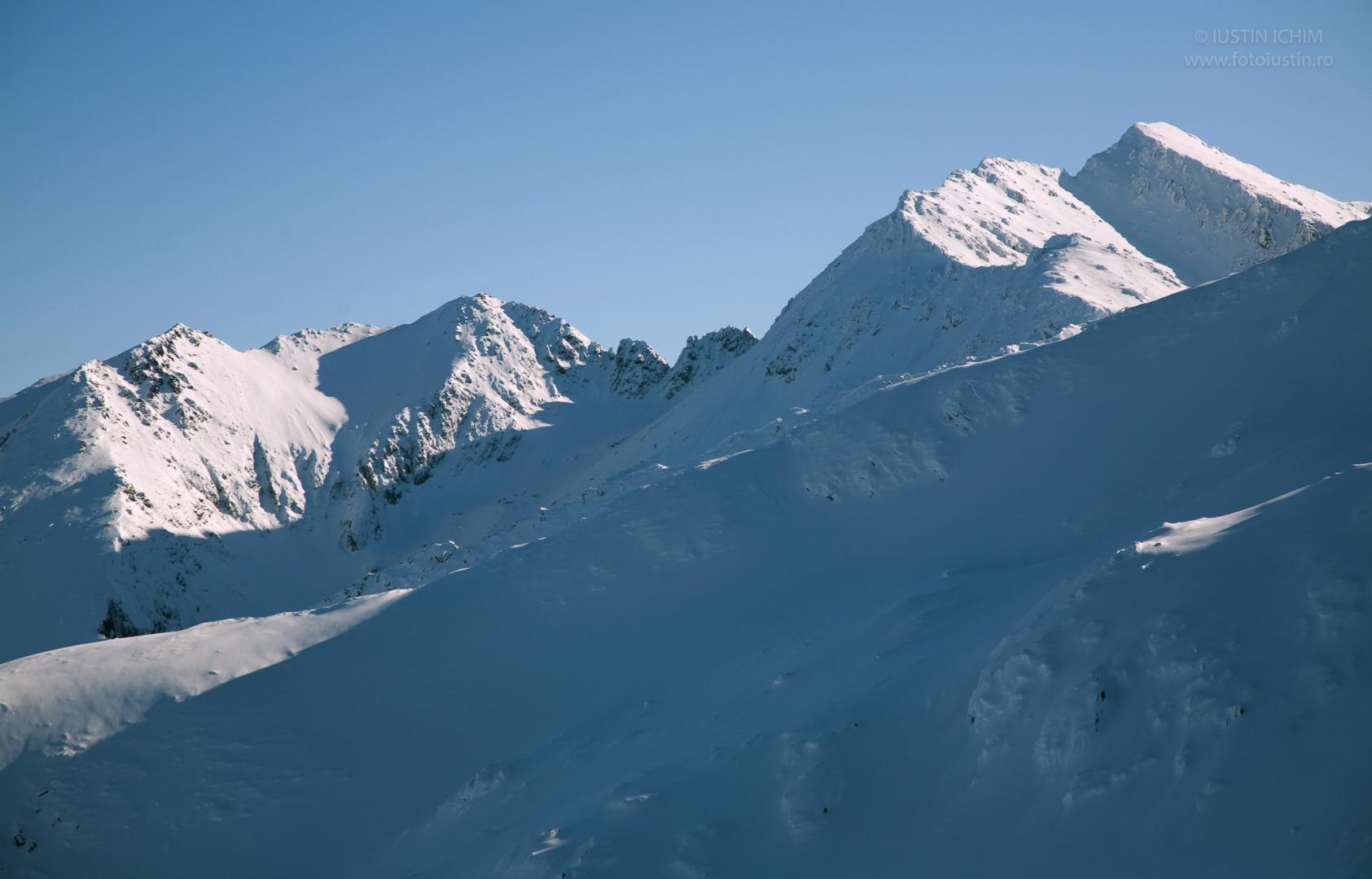 Munții Făgăraș, iarna