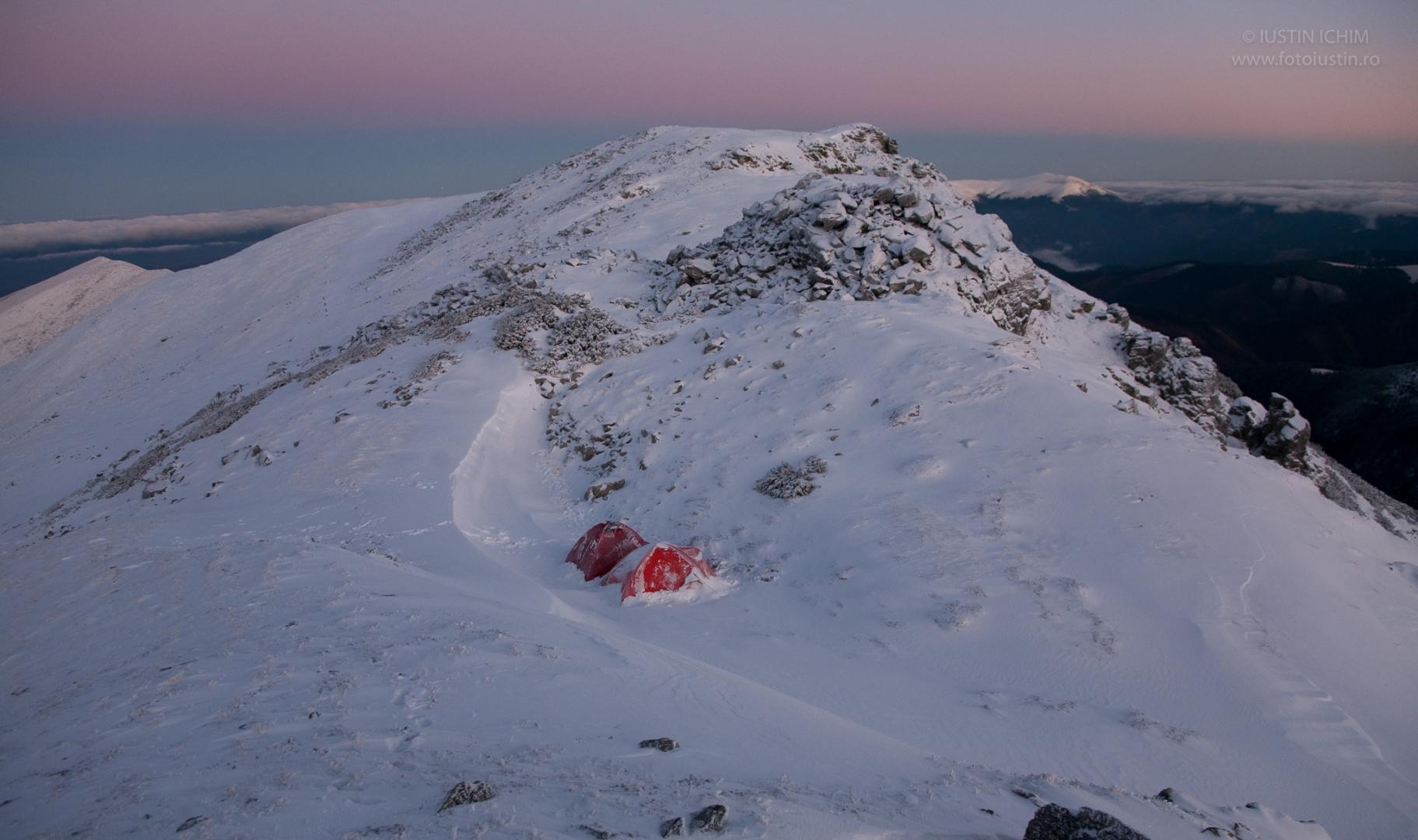 Iarna la cort in Parâng
