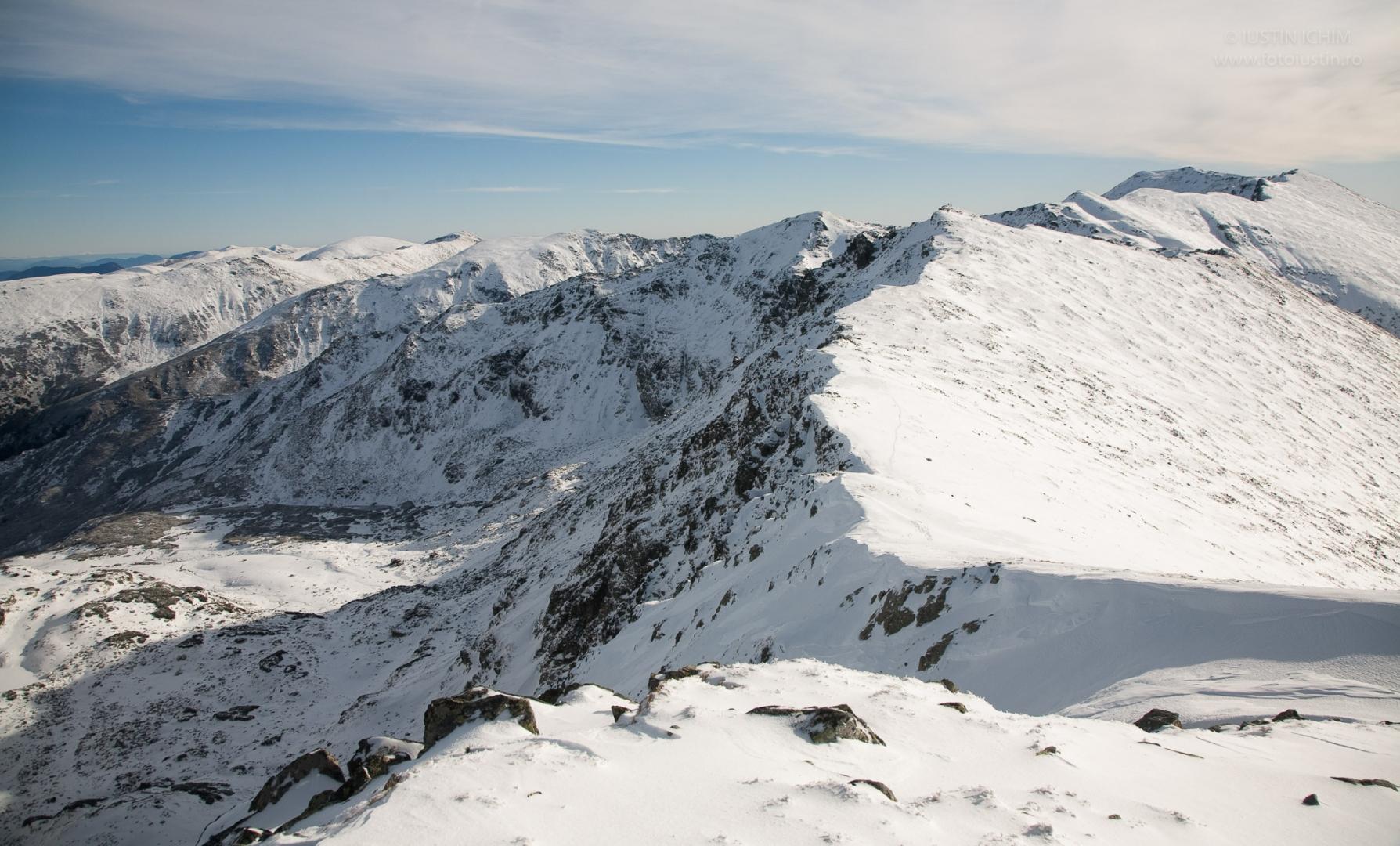 Munții Parâng, iarna