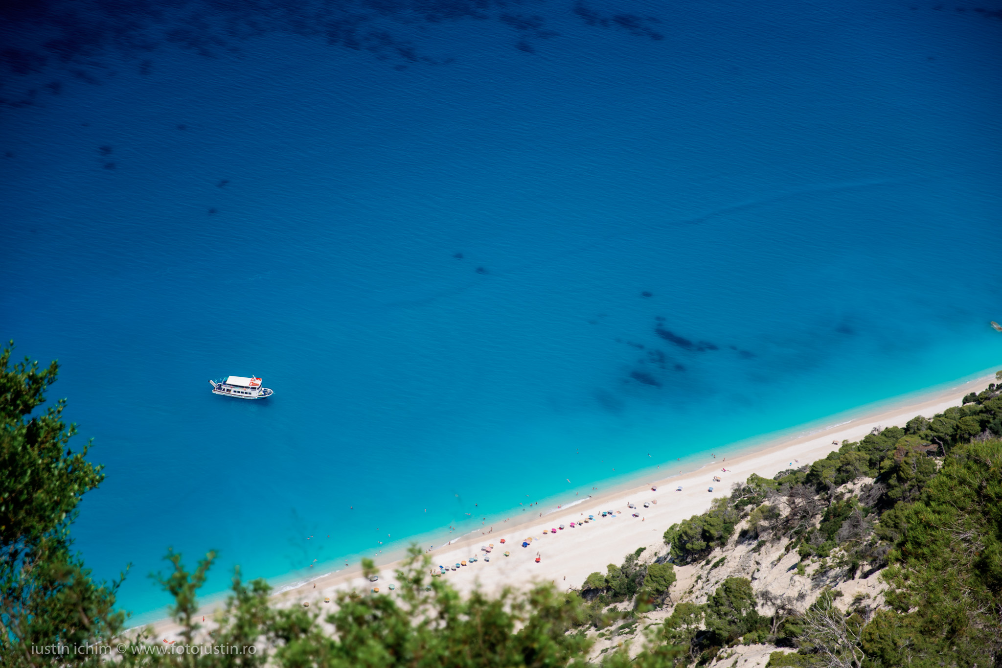 Plaja in Lefkada