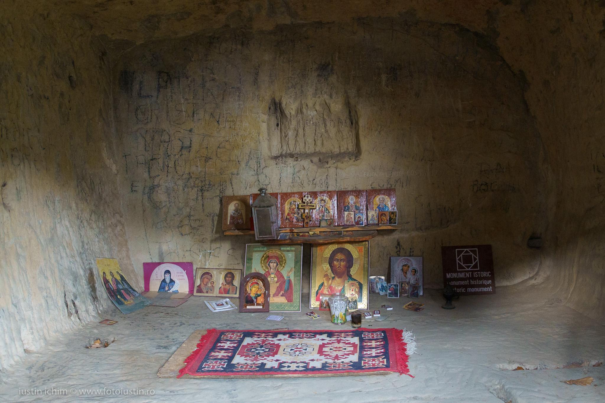 Interior Chilia lui Dionisie Torcatorul
