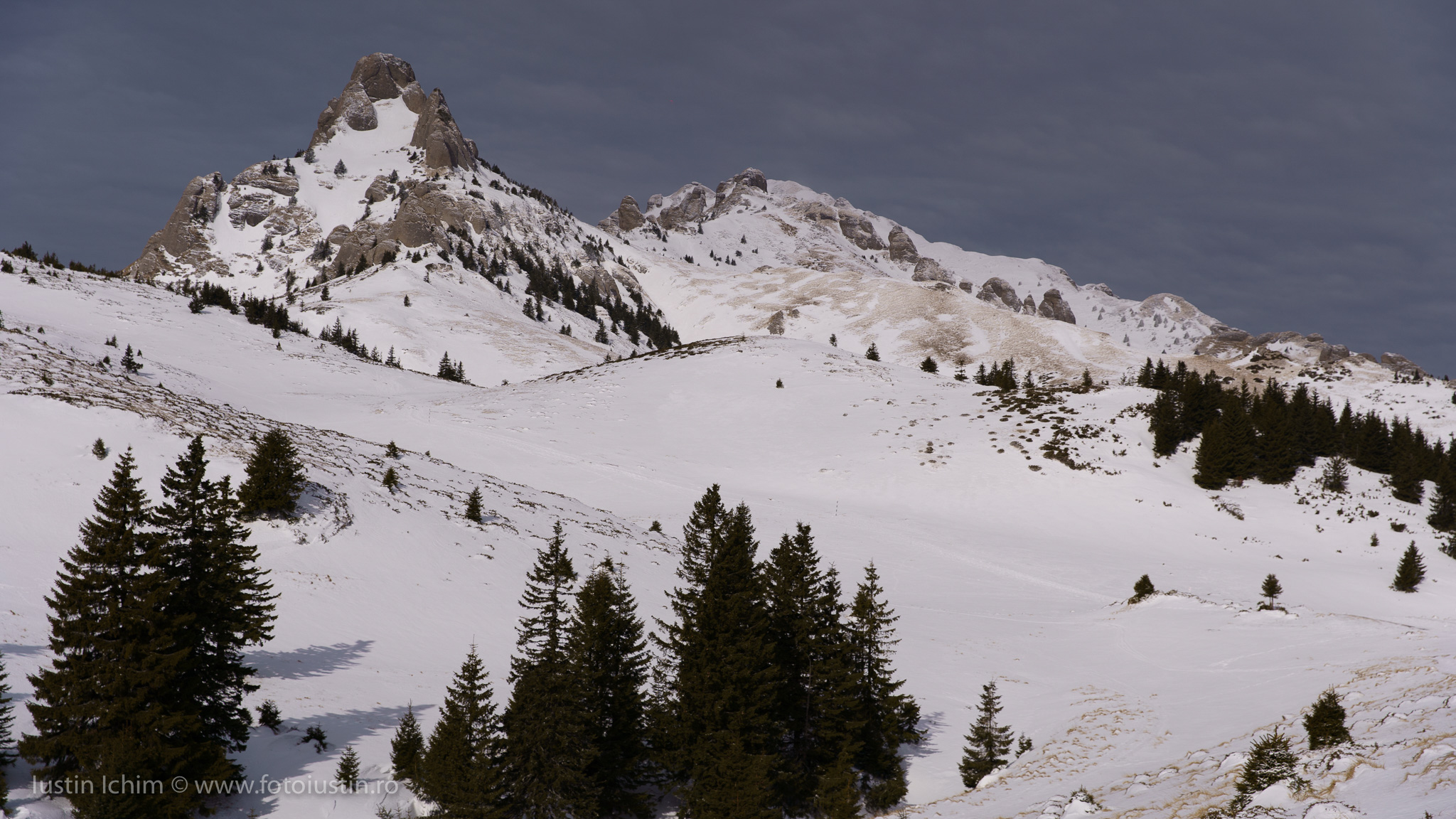 Munții Ciucaș, iarna