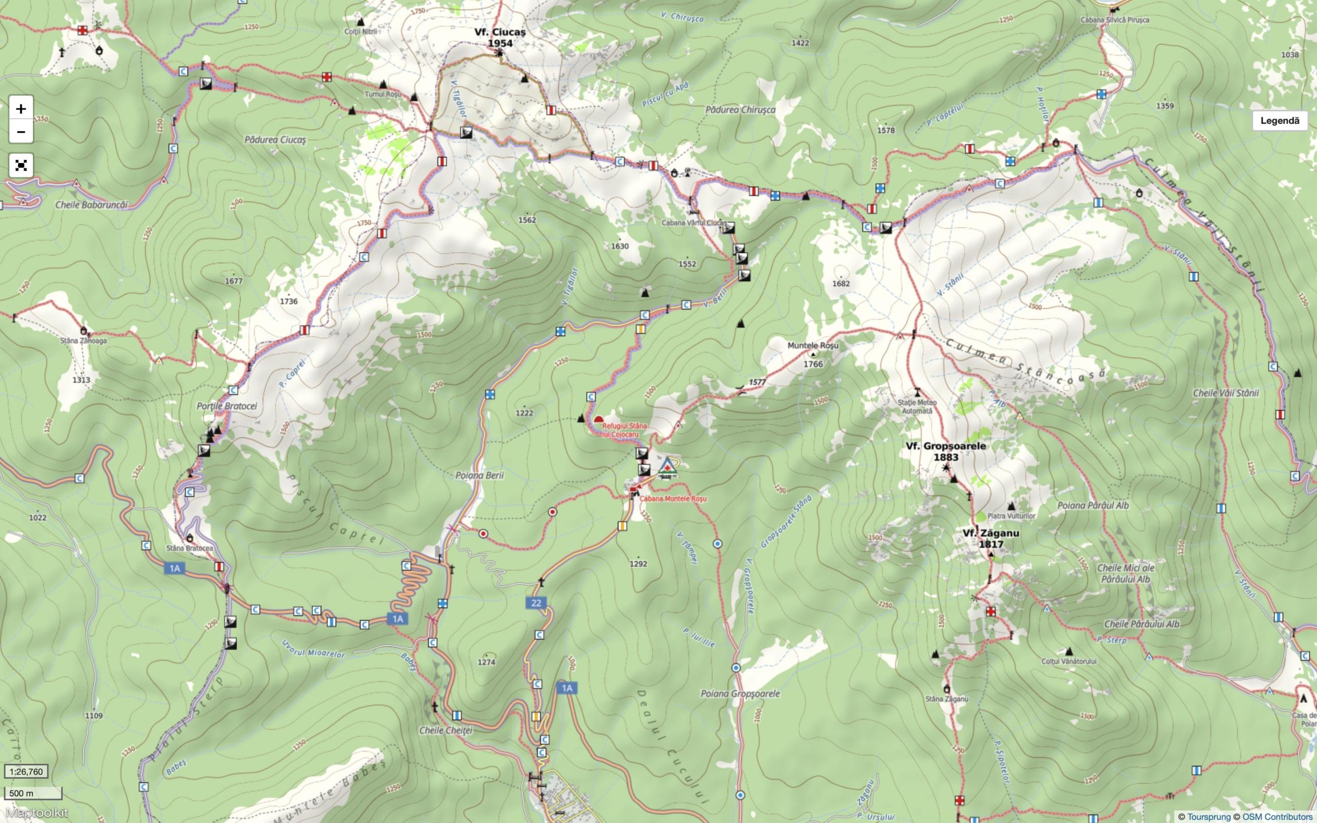 Harta Ciucas