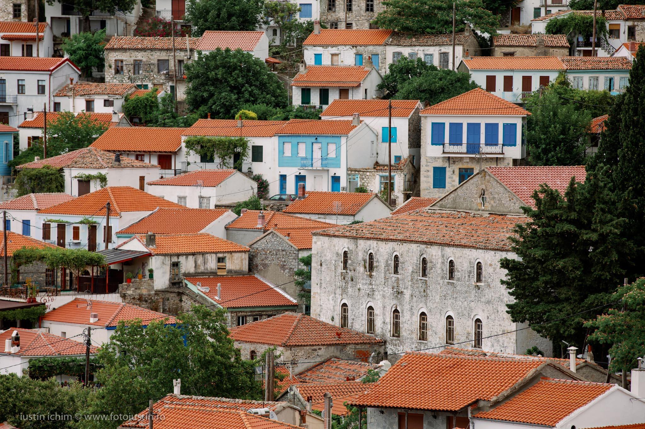 Chora, capitala insulei