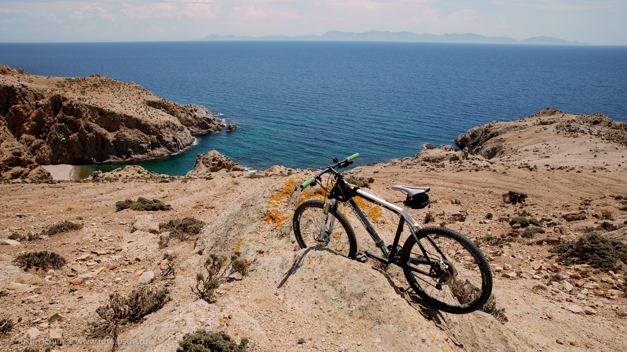 Cu bicicleta prin Samothraki