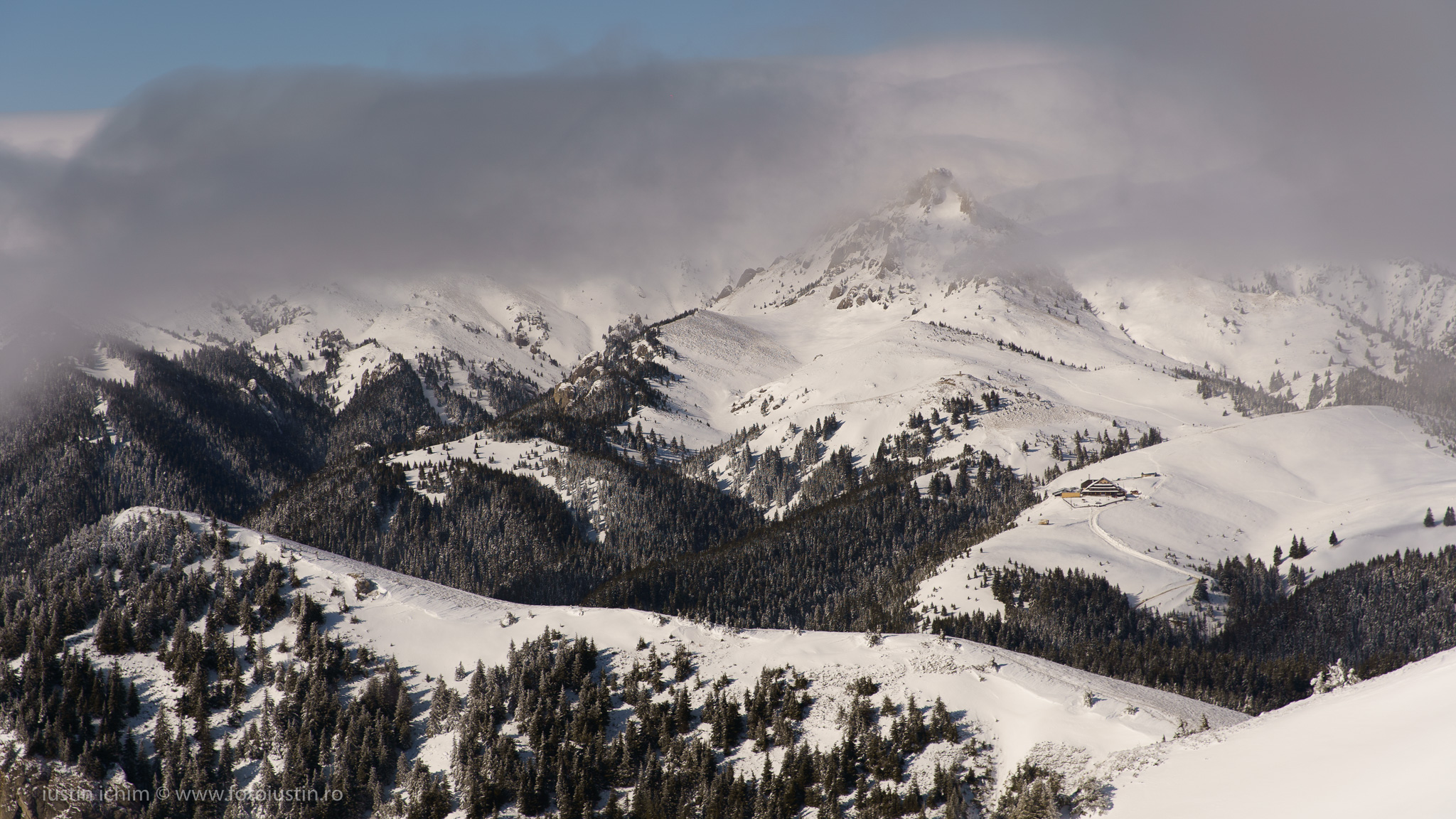 Munții Ciucaș, Vf. Ciucaș iarna