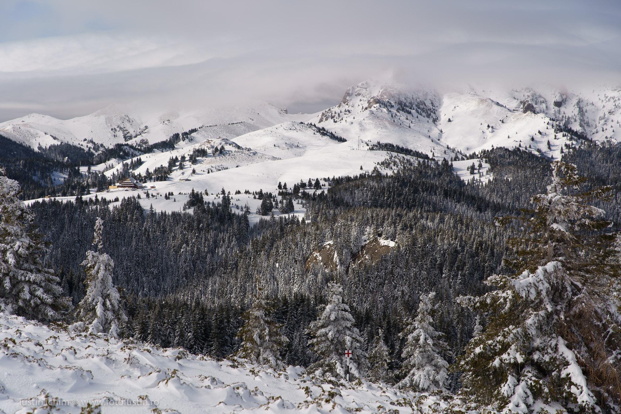 Munții Ciucaș iarna