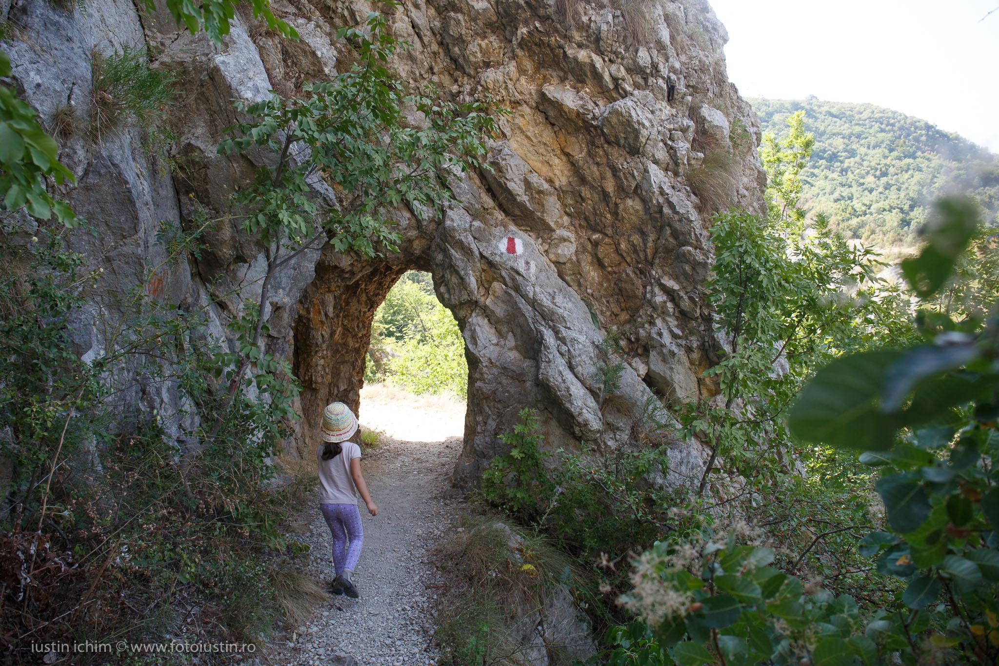 La Tunele, Cheile Nerei