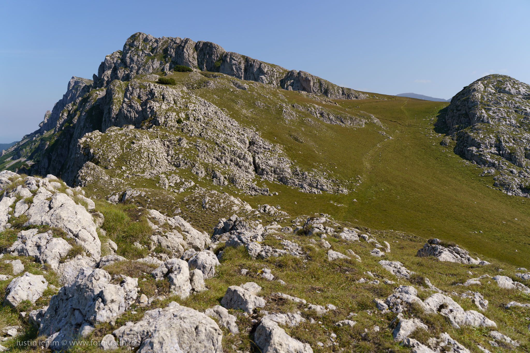 Strungile Mari, Munții Grohotișul, Bucegi