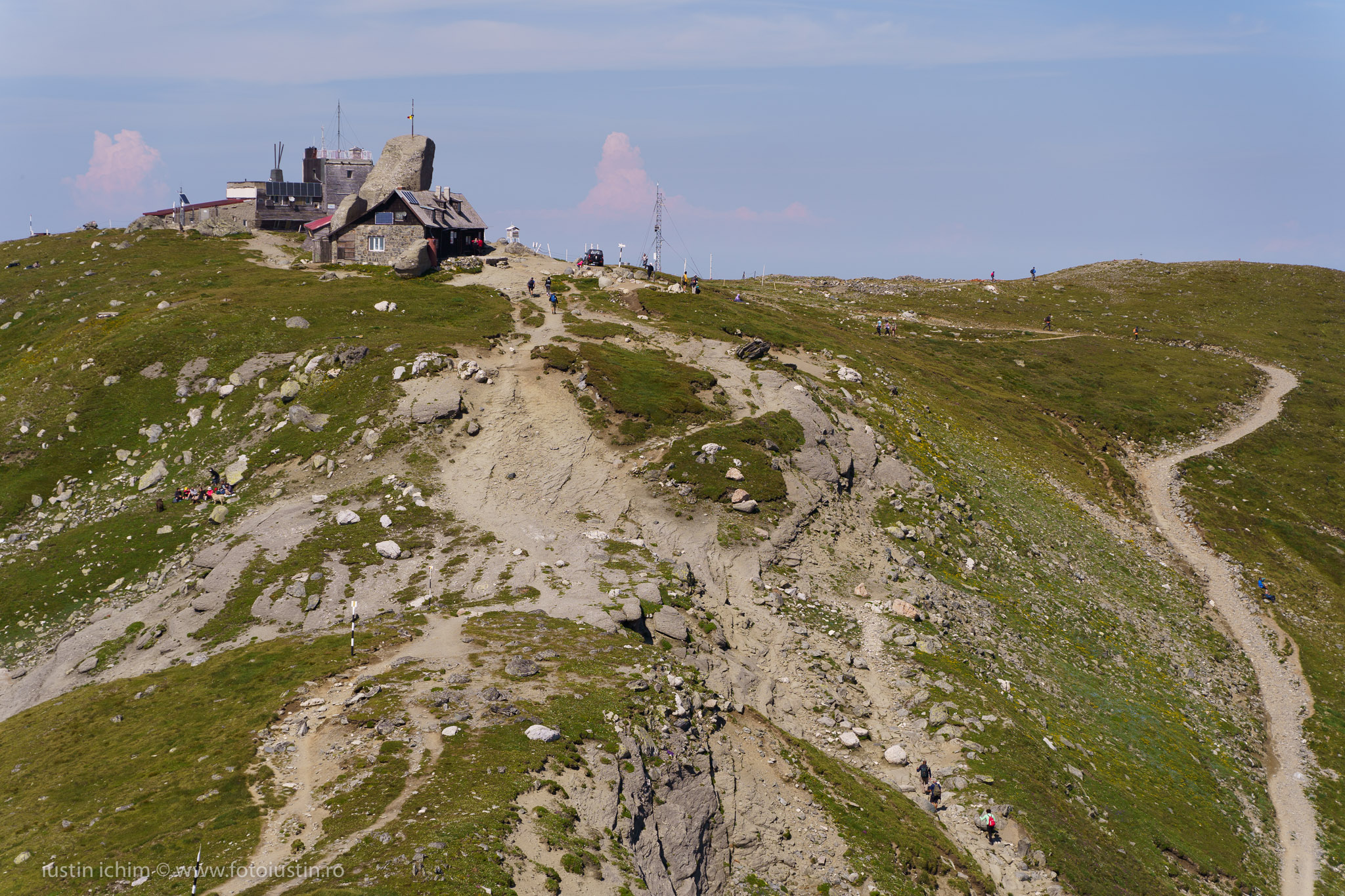 Vârful Omu, 2507m