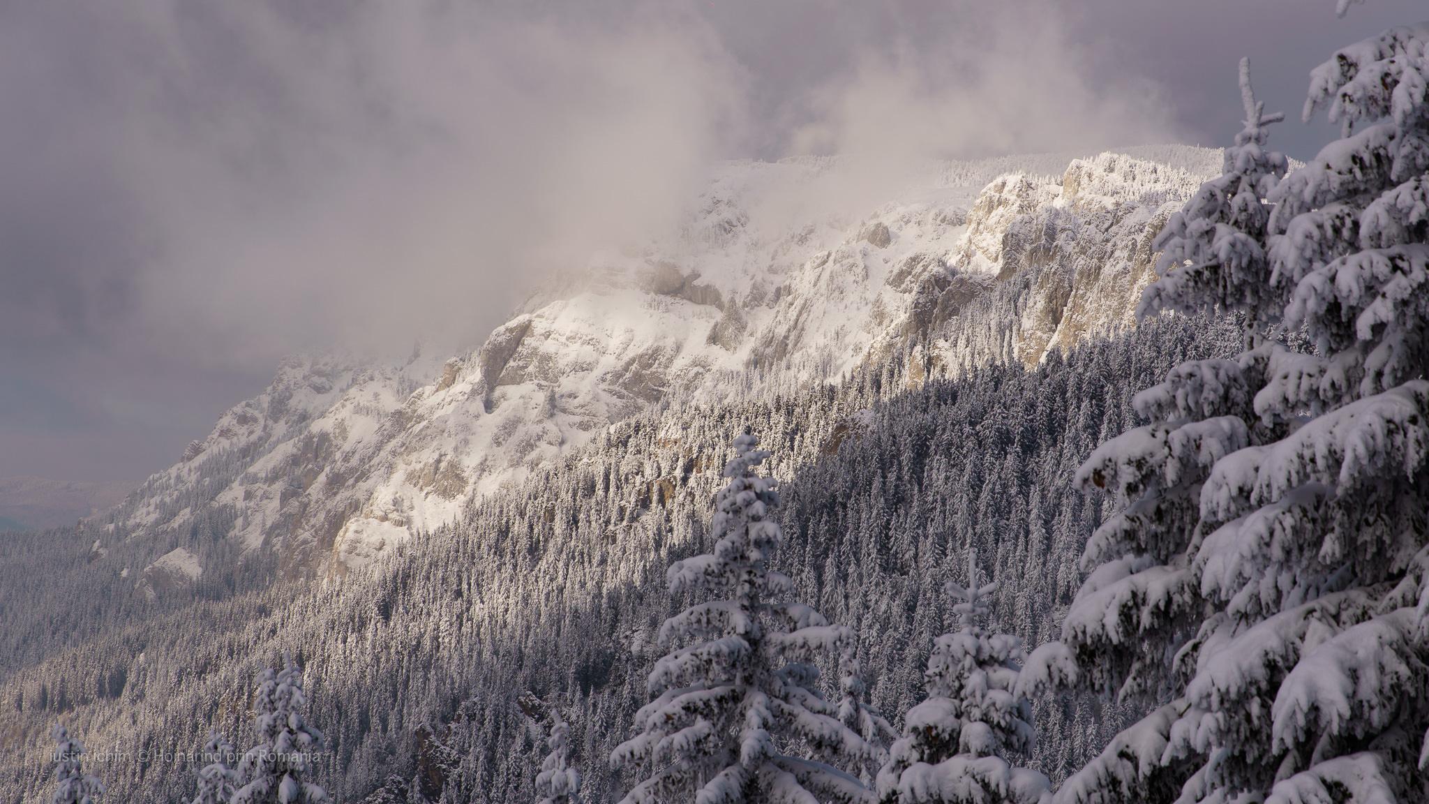 Hășmașul Mare iarna