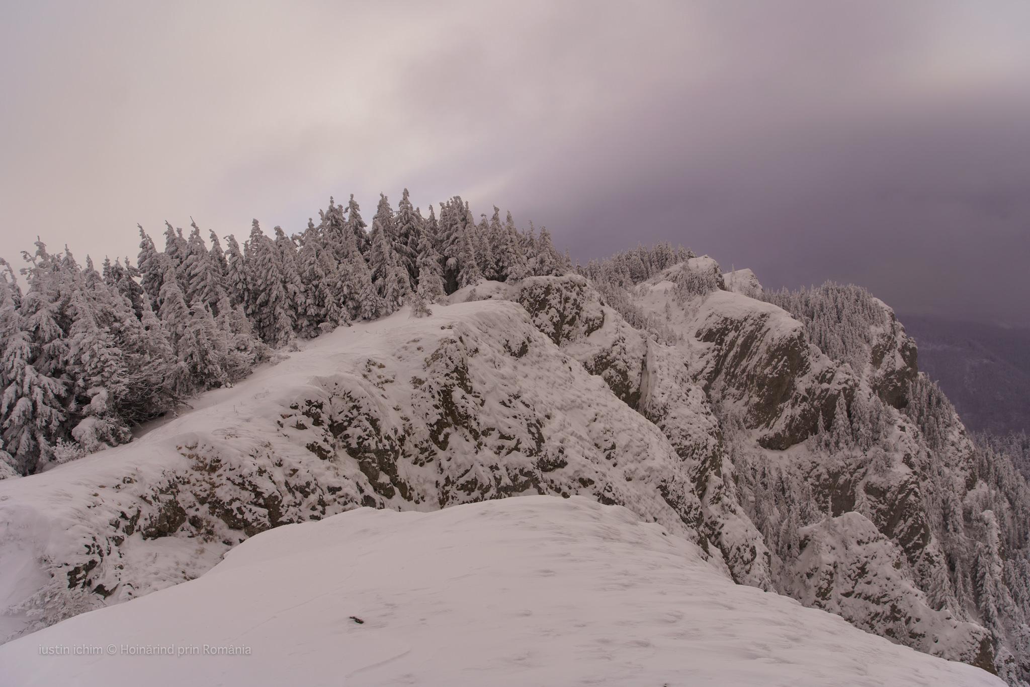 Hașmașul Mare, iarna