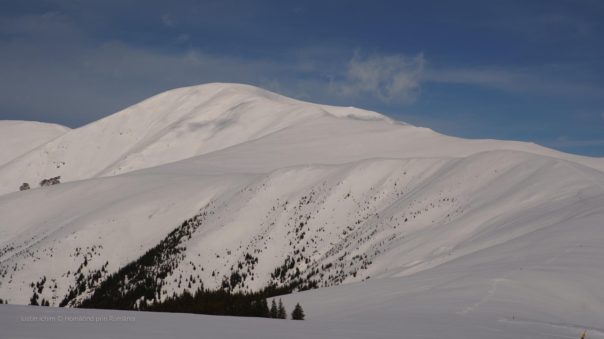 Vf. Păpușa (2391 m) Munții Iezer Păpușa