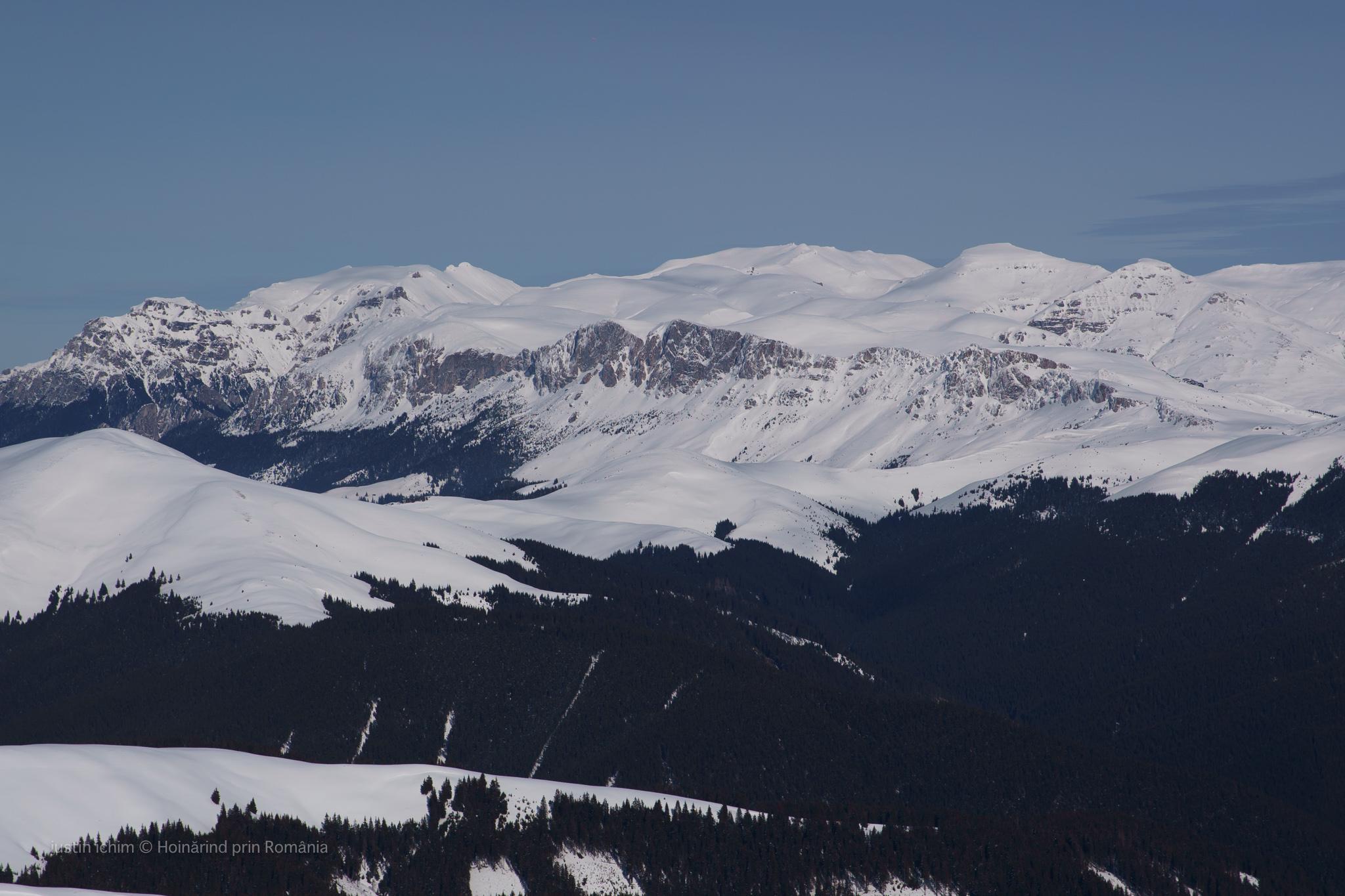 Munții Bucegi, iarna