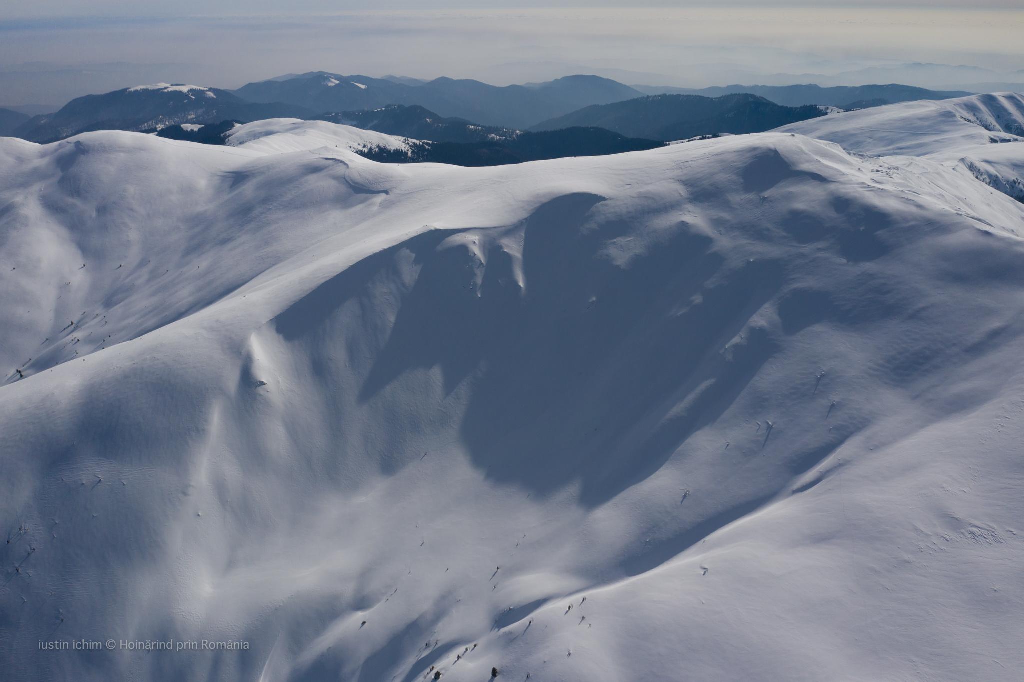 Vf. Leaota, iarna, 2133m