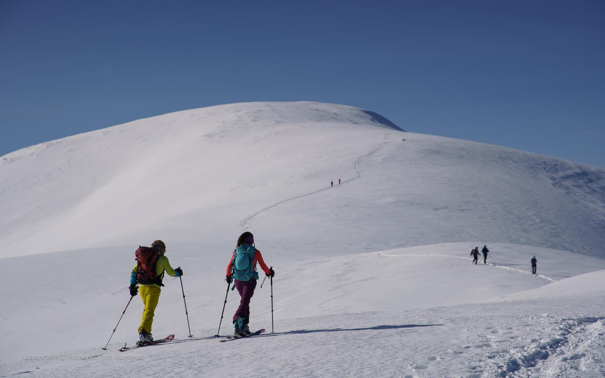 Ski de tură in Leaota