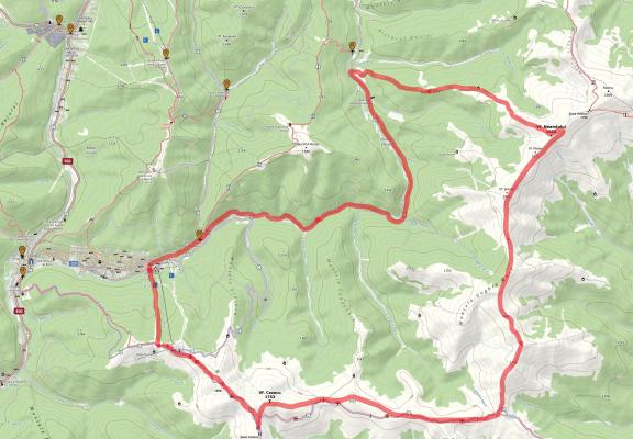 Harta Muntii Neamțului